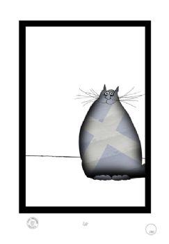 1 Shabby Chic Scottish Cat